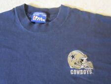 Dallas Cowboys Sewn Helmet Vintage 1980-1990's Pro Player Brand T-Shirt-Xl Rare