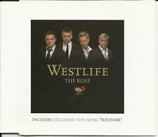WESTLIFE the Rose CD single 2TRX w/ UNRELEASE Solitare SEALED Limited USA SELLER