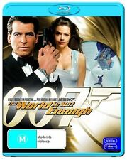 The World Is Not Enough (Blu-ray, 2009)  Pierce Brosnan  Sophie Marceau
