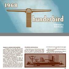 Thunderbird 1968 - 1968 Thunderbird Owner's Manual