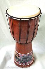 Bongo, 40cm Jambè, Tamburo,Drum,Alta Lavorazione Artigianale