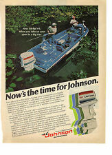 1978 Johnson Outboards 150hp V6 Marine Motor First In Dependability Print Ad