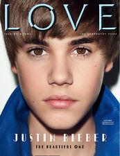 LOVE Magazine # 5,Justin Bieber,KATE MOSS,Andrej Pejic,Duran Duran,Arizona Muse