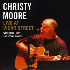 Christy Moore - Live At Vicar Street - New CD Album