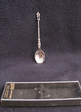 Bw Silverplated Spoon - Made in Great Britain - Bought in Scotland - Iob