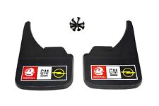Mudflaps Universal Fit Mud Flap Vauxhall Opel GM Standard Guards Car Van Vehicle