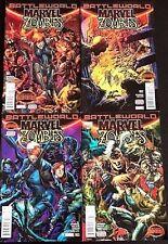 Marvel Zombies#1-4 Nm Lot 2015 Secret Wars Marvel Comics