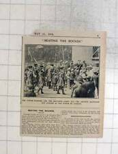 1909 The Tower Wardens And Children Ascension Day Custom Beating The Bounds