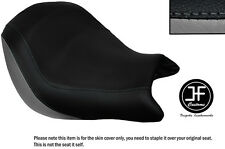 GREY AND BLACK VINYL CUSTOM FITS HONDA VTX 1800 02-04 FRONT SEAT COVER ONLY