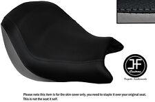 Vinilo Gris y Negro Personalizado se ajusta a Honda VTX 1800 02-04 frente cubierta de asiento solamente
