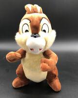 "Walt Disney Parks Chip and Dale CUTE CHIP CHIPMUNK 8"" Plush STUFFED ANIMAL Toy"