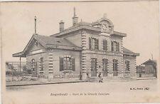 CARTE POSTALE ANCIENNE GARE DE LA GRANDE CEINTURE à ARGENTEUIL/Animée(Enfants)