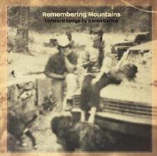 Remembering Mountains Unheard Songs by Karen Dalt LP Vinyl (us) 33rpm