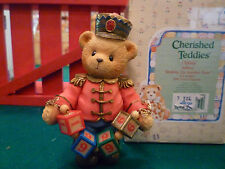 Cherished Teddies - Jeffrey - 1996 Dated Figurine