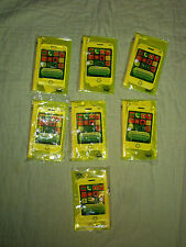 Lot of 7 Clear Yellow Plastic Wristlets*3C4G