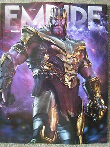 Empire May 2019 Thanos Cover 2 The Avengers Danny Boyle Nicholas Hoult Godzilla