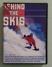 warren miller  BEHIND THE SKIS  DVD