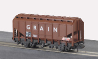 Peco NR-66 N Gauge BRT Brown Grain Wagon