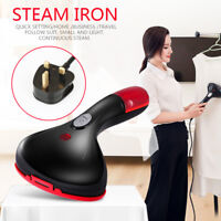 1500W Travel Handheld Clothes Steamer Garment Portable Cloth Steam Heat Iron