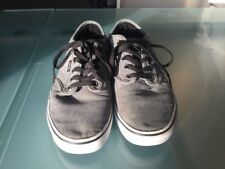 """GREY AND BLACK.               """"OFF THE WALL"""" VANS SIZE 7 SUPERB CONDITION!"""
