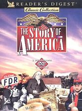 Readers Digest - The Story of America DVD, Jefferson,Pilgrams, Edison, History