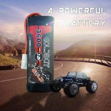 GOLDBAT 3600mAh 7.2V NiMH Battery with Tamiya Connector for RC Car RC Truck RC