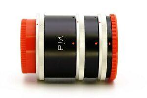 Canon FD Via Zwischenring Satz Extension Tube Set FD 12 20 36 mm