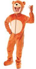 Animal Costume: Big Head Bear Suit - Adult