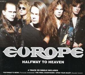 Europe - Halfway To Heaven (1992 CD Single)