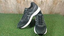 Asics Patriot 9 para hombre Negro/Carbón/Blanco Zapatos De Entrenamiento De Malla UK 10