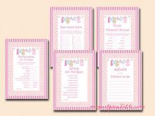 Print Yourself Girl Baby Shower Games Printable TLC79