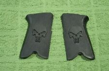 Custom Grips for Ruger P85, P89, P90 & P91 Black Skull
