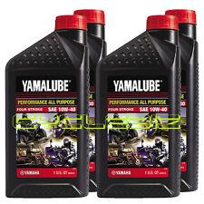 Yamalube Performance All Purpose Engine Oil SAE 10W-40 - 4 Quarts / 1 Gallon