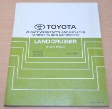 Toyota Land Cruiser UZJ FZJ HZJ HDJ 100 105 Fahrwerk Karosserie Werkstatthandbu