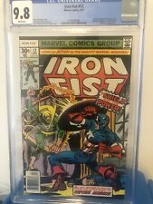 Iron Fist #12 CGC 9.8!!! Extremely Rare 9.8🔥 Iconic Cover!! White Pages