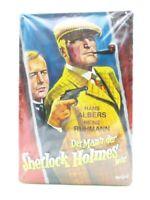 Blechschild Sherlock Holmes Kino Film Metall Schild 30cm,Nostalgie Metal Shield