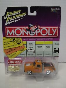 Johnny Lightning Monopoly Series - Tennessee Ave 79 Dodge Pickup Truck- MOC (BK)