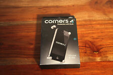 Corners4 iPhone 4 / 4S Metal Corners Case in Black Diamond BRAND NEW