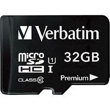Memoria Verbatim micro SDHC 32g Cl10 Adapter Premium
