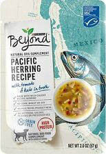 (10) Purina Beyond Pacific Herring Recipe No Grain Natural Dog Compliment 2 Oz