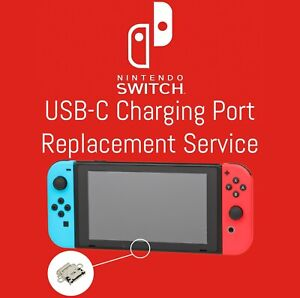 Nintendo Switch USB-C Charging Port Connector Repair Or Replacement Service