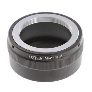FOTGA M42 Lens to Sony E Mount Adapter Ring For A6000 NEX3 NEX5 NEX6 NEX7 A7R
