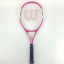 "Wilson Triumph Tennis Racket Racquet 27 1/2"" VHS 4 1/2' Grip (Overgrip Installed"