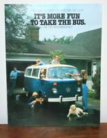 1978 VOLKSWAGEN Bus Sales Brochure