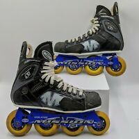 Mission Proto Si Violator Hi-Lo Inline Hockey Skates Junior Size 5D US