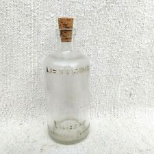 1930s Vintage Listerine Lambert Pharmacal Company Verre Bouteille Liège Cap USA
