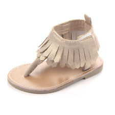 Toddler Infant Moccasin Newborn Baby Girls Soft Shoes Sole Sandals Prewalkers