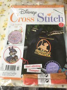 Disney Cross Stitch Part Magazine Issue No 7 Hakuna Matata New & sealed