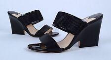 Jimmy Choo 'Marsa' Dual Strap Sandal- Black- Size 9.5 US/ 40 EU  $798  (B6)