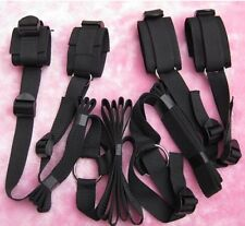 Adjustable Secret Under the bed System Restraint tool Set Strong Nylon cuffs